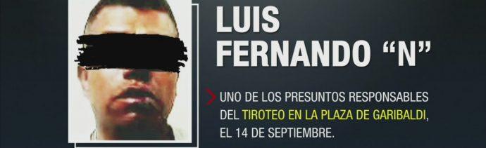 Vinculan A Proceso Implicado Balacera En Garibaldi Luis Fernando N Alias El Rata