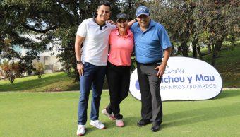 """Apoyan a fundaciones con torneo de golf """"Fuerza México"""""""