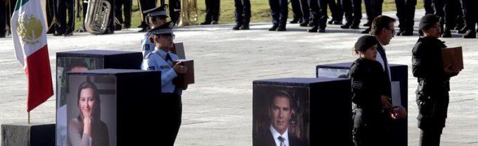 Puebla, de luto en Navidad; exigen investigación exhaustiva del desplome del helicóptero de Martha Erika Alonso