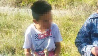 Abandonan A Niño En Carretera México-Pachuca, Carretera México-Pachuca, Niño Abandonado, Niños, Pachuca, Hidalgo