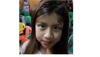 PGJCDMX solicita localizar niña Angélica Celeste Vega Flores