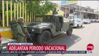 Adelantan vacaciones en escuelas de Guerrero por amenazas a maestros