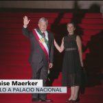 AMLO llega a Palacio Nacional, luego de toma de protesta