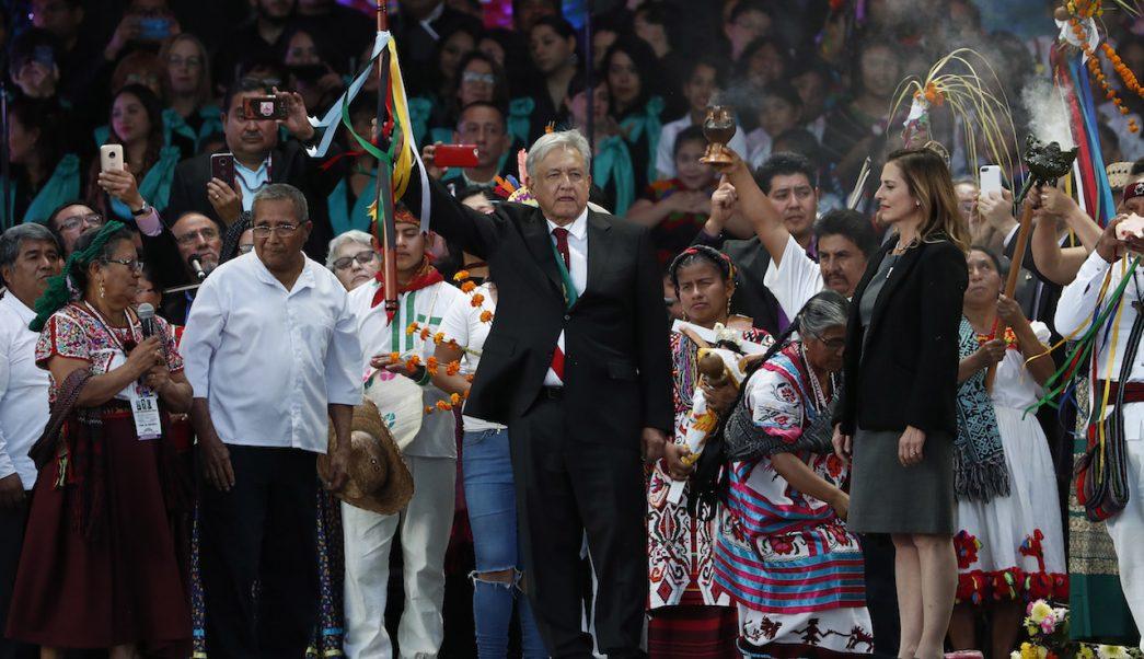 AMLO pedirá permiso a Madre Tierra para construir Tren Maya