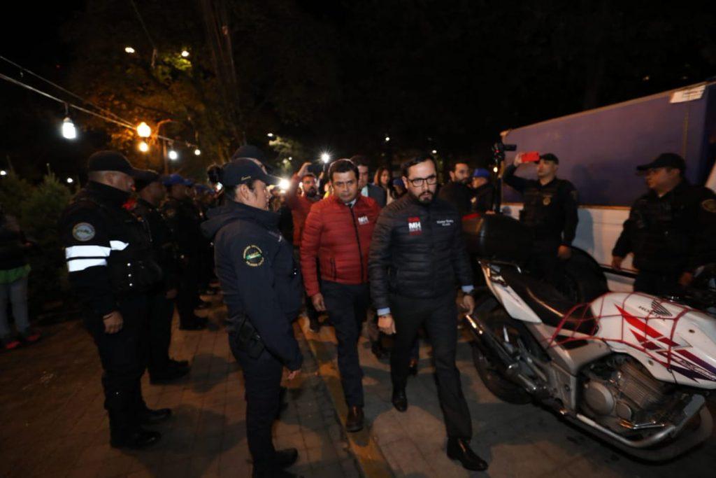 Arranca operativo de seguridad en bares de Polanco, CDMX