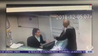 Asaltan a recepcionista de laboratorio clínico en Nezahualcóyotl, Edomex