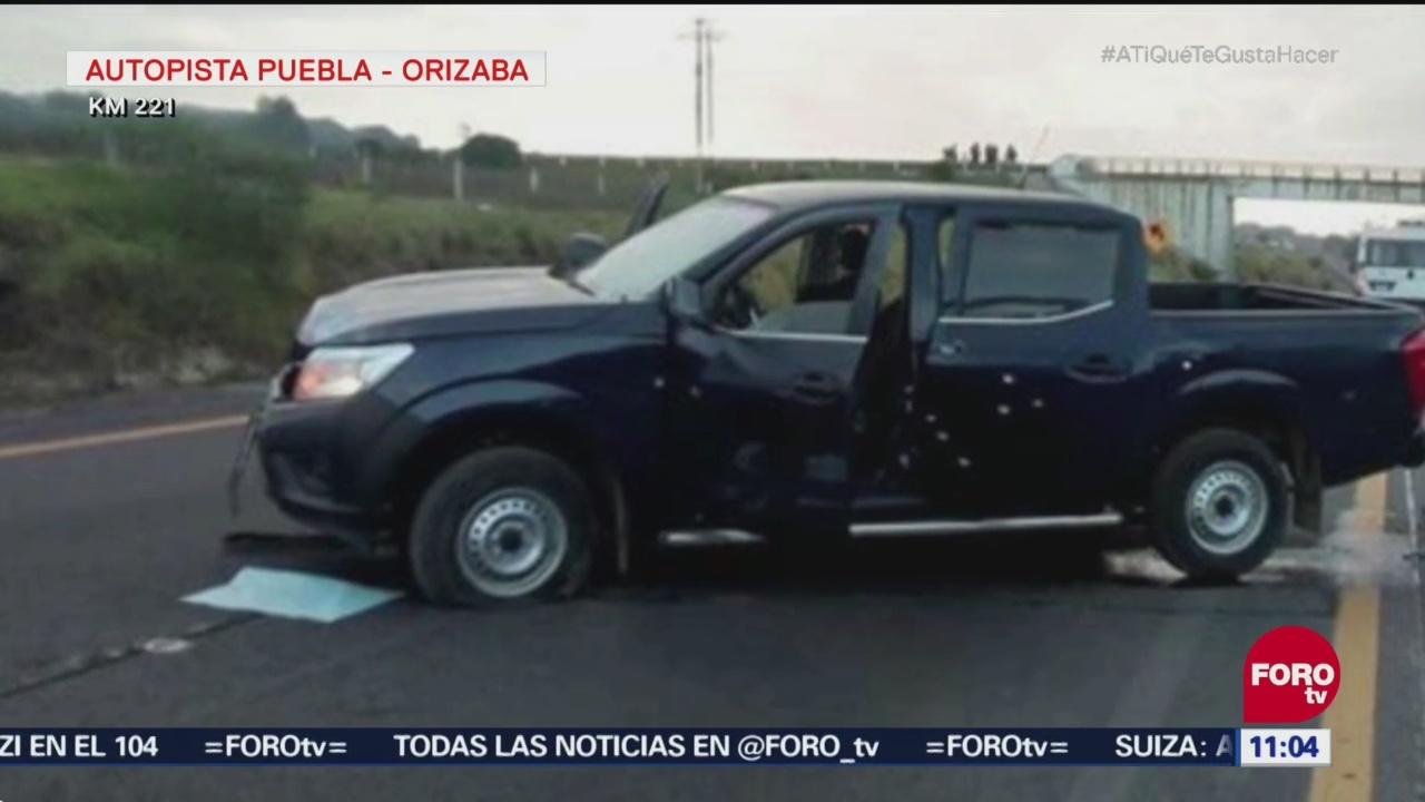 Asesinan a siete personas en la autopista Puebla-Orizaba