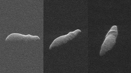 Fotos Asteroide Forma Hipopótamo Se Acerca Tierra