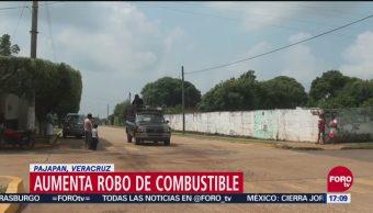 Aumenta robo de combustible en Pajapan, Veracruz