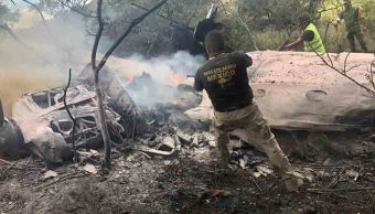 Se desploma avioneta en Atizapán; mueren los dos tripulantes