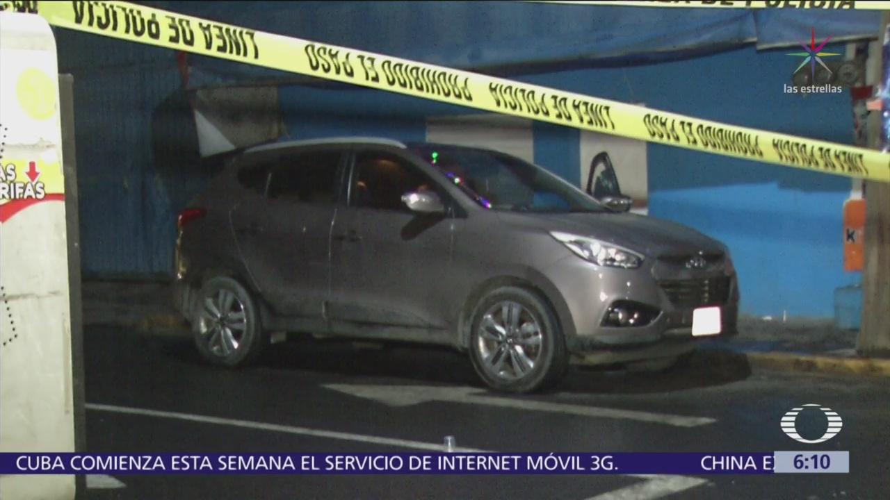 Balaceras en CDMX dejan dos muertos y una mujer herida