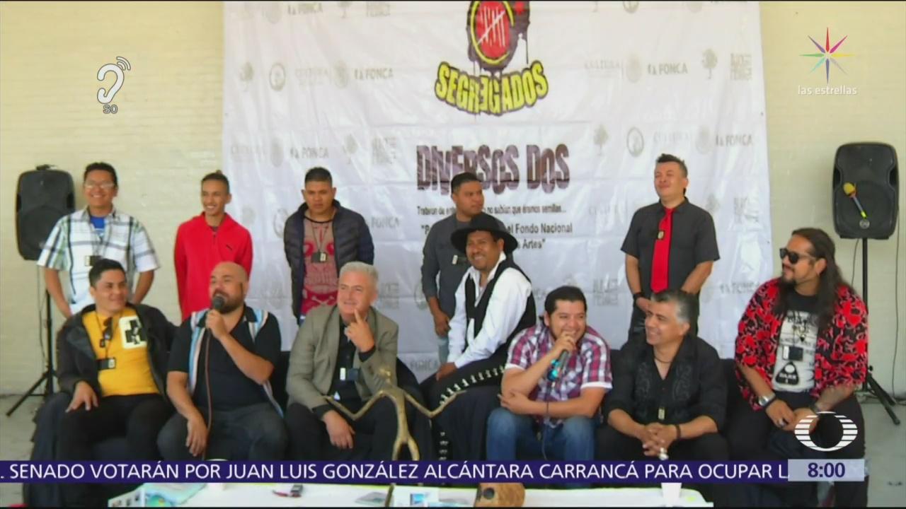 Banda de rock de internos del Reclusorio Oriente regresa a prisión