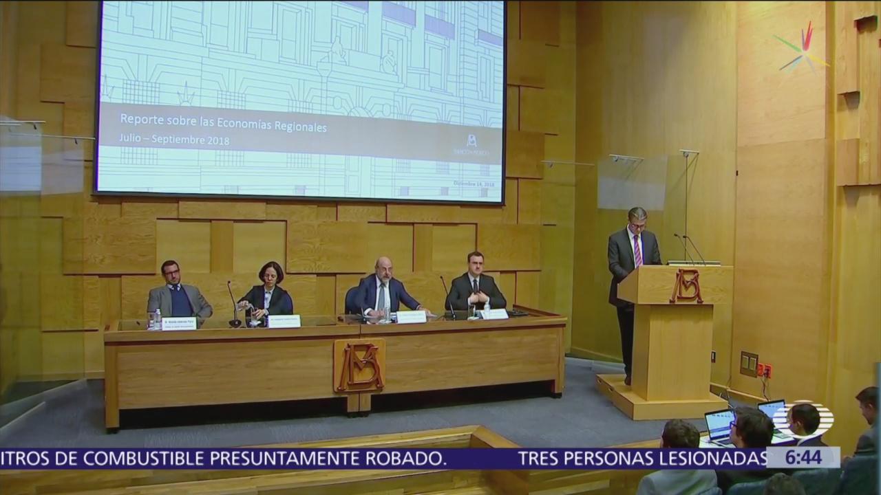 Banxico señala preocupación entre empresarios por incertidumbre en políticas AMLO