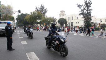 Seis mil elementos de la Policía capitalina vigilan Basílica