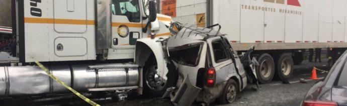 Accidente en la México Querétaro, Tepotzotlán, deja 1 muerto