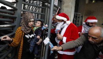 Comienzan fiestas navideñas en la ciudad cisjordana de Belén
