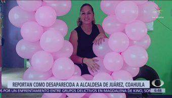 Desaparece la alcaldesa de Juárez, Coahuila, Olga Gabriela Kobel