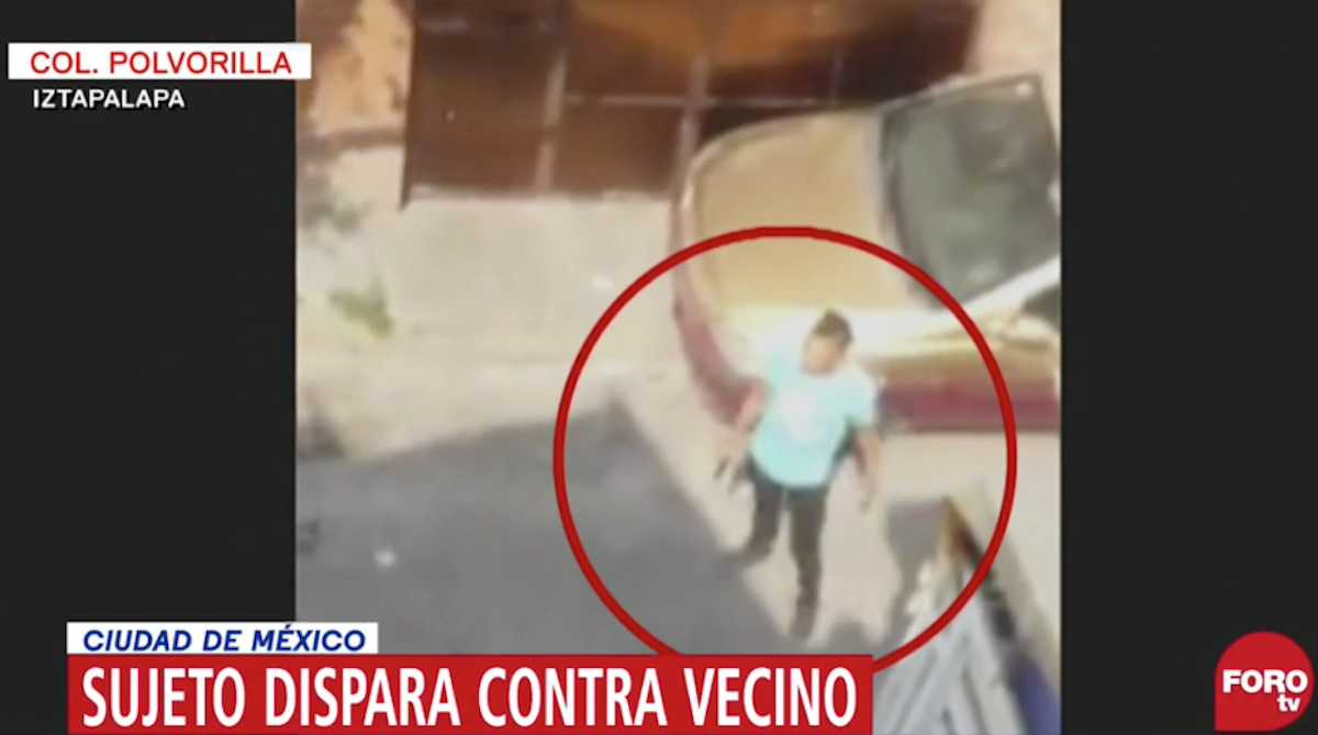 Sujeto Disparó Vecino Iztapalapa Varias Ocasiones