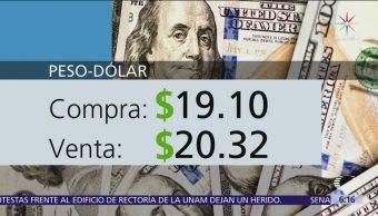 El dólar se vende en $20.32