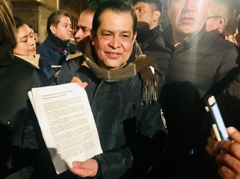 El presidente municipal de Nezahualcóyotl, Juan Hugo de la Rosa García
