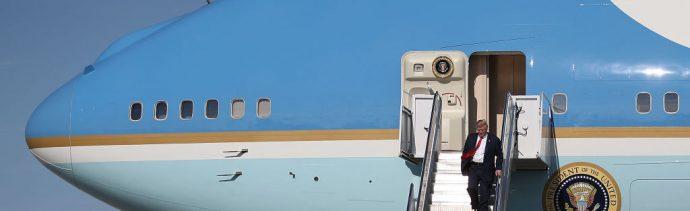 Air Force One trasladará cuerpo de George H. W. Bush: Trump