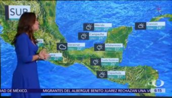Frente frío 16 se extenderá sobre la Península de Yucatán
