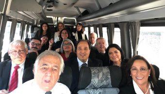 Viaja Gabiente AMLO Andrés Manuel López Obrador