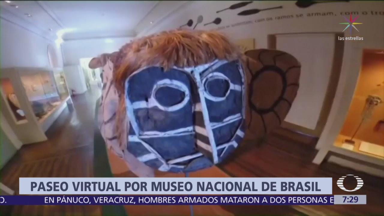 Google abre las puertas al museo de Brasil incendiado
