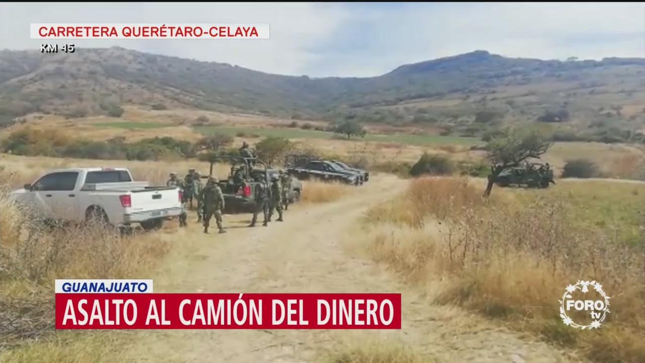 Roban 118 Millones De Pesos Entierran Camioneta Blindada Guanajuato