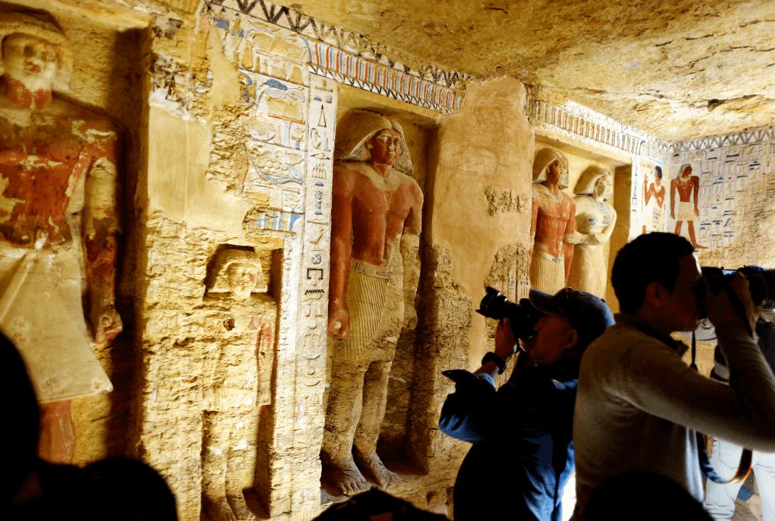 Hallan antigua tumba en Egipto, pertenece a un sacerdote. (AP)