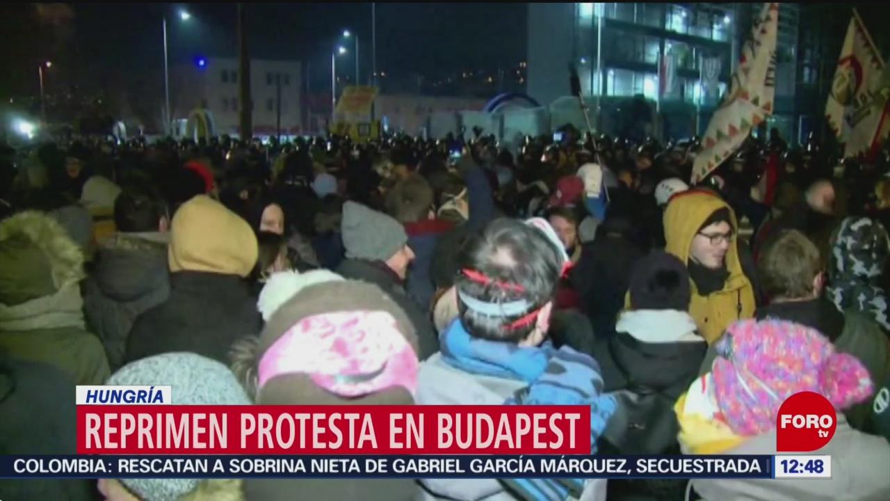 Hungría protesta contra la 'llamada ley de la esclavitud'