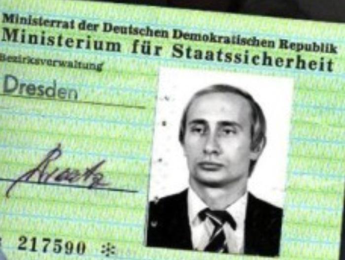 Putin: Difunden identificación como agente de Stasi