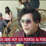 Ingresan los primeros visitantes a casa Miguel Alemán, en Los Pinos