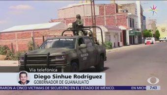 Inicia la coordinación conjunta contra huachicol en Guanajuato