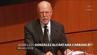 Juan Luis González Alcántara Rinde Protesta Ministro SCJN