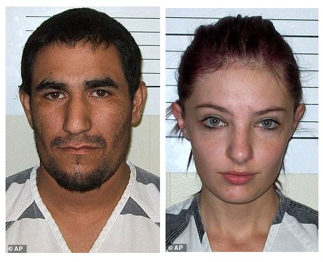 La pareja fue capturada en octubre de 2017 y hasta este martes se dicto la sentencia de Koehn (AP Images)