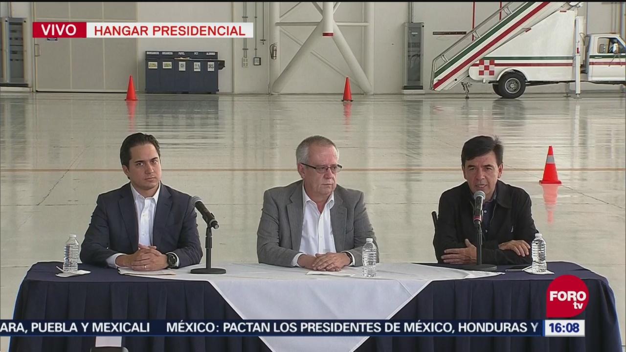 Gobierno Federal anuncia venta de avión presidencial