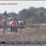 Llegan peritos canadienses al lugar del accidente aéreo en Puebla