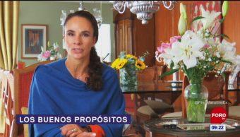 La especialista Alejandra Diener habla en Matutino Express sobre los buenos propósitos para este 2019 y cómo cumplirlos