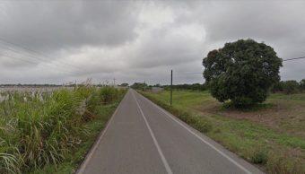 Motociclista pierde el labio tras ser arrollado por auto (Google)