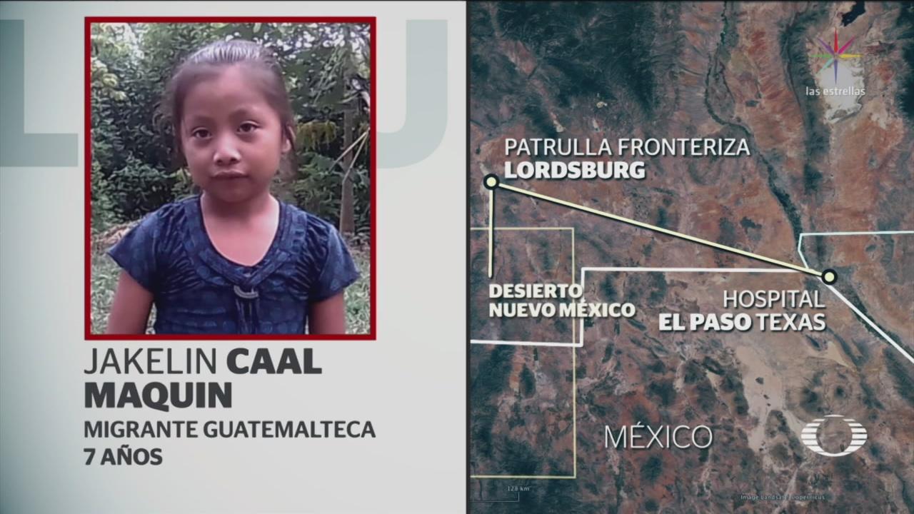 Muere Niña Guatemalteca Bajo Custodia Patrulla Fronteriza