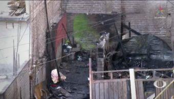 Mueren Siete Menores Incendio Iztapalapa CDMX