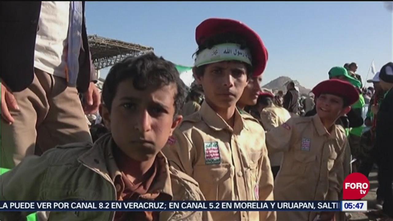 Niños para la guerra en Yemen
