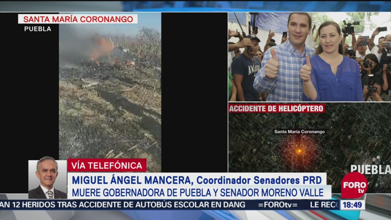 PRD Convocatoria Homenajear A Moreno Valle