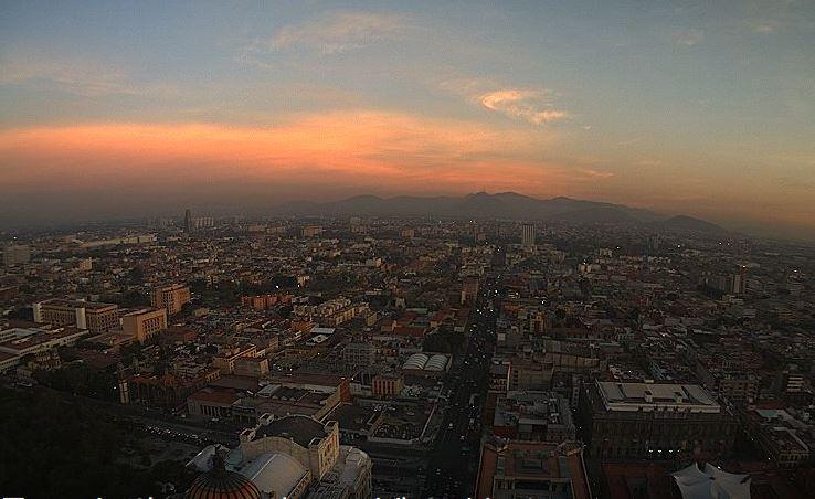 Ciudad de México registra 6 grados centígrados