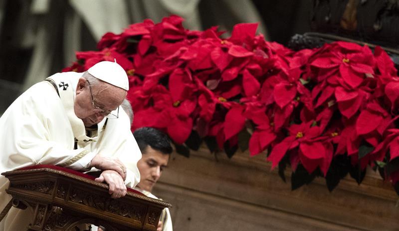 Papa Francisco clama contra humanidad 'voraz y ávida'