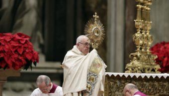 Papa Francisco despide al 2018 y recuerda a personas en esclavitud