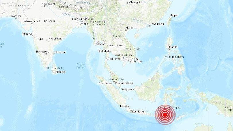 sismo magnitud 6.1 sacude isla papua en indonesia