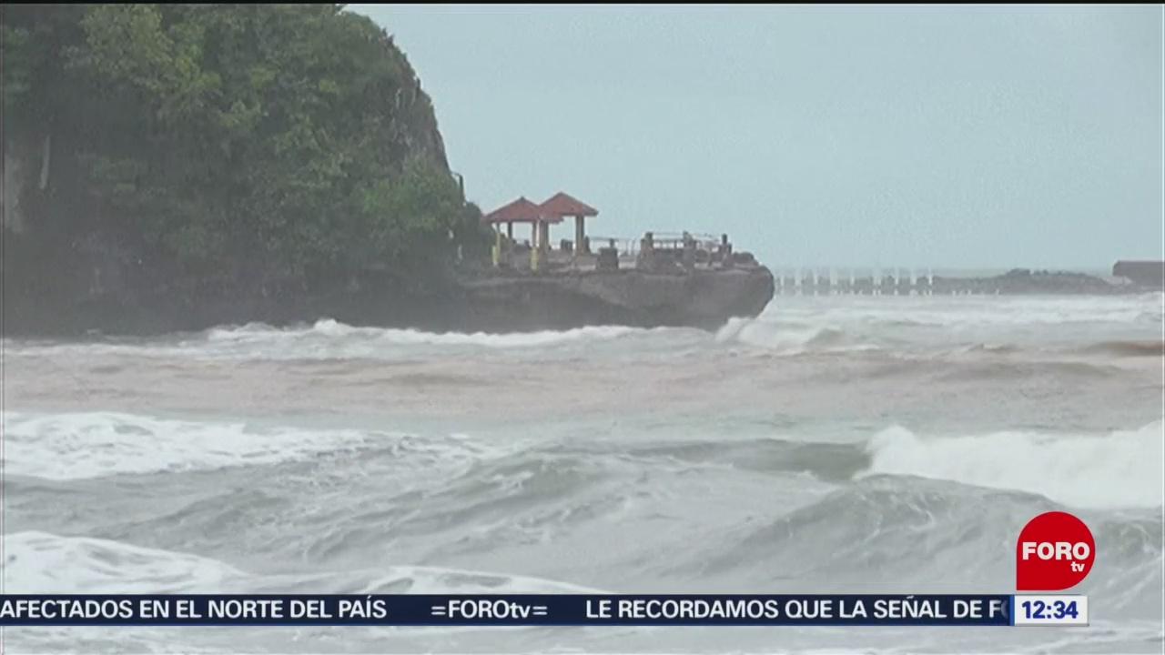Actividad volcánica provoca tsunami en Indonesia