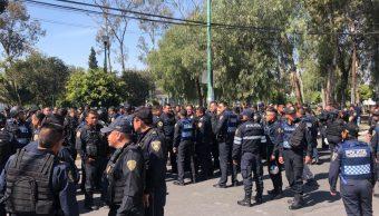 Enfrentamiento en Peñón de los Baños deja un policía herido.